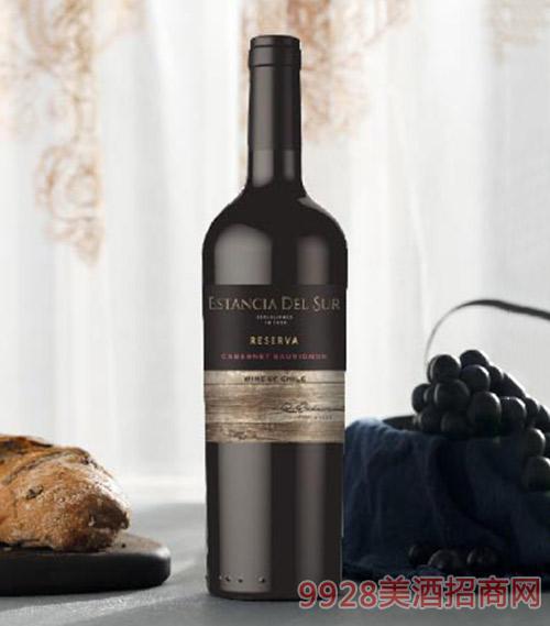 圣美斯珍藏赤霞珠干红葡萄酒750ml