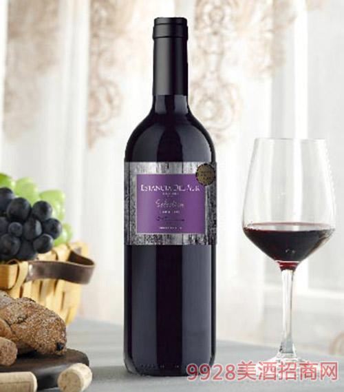 圣美斯精选卡曼妮干红葡萄酒750ml