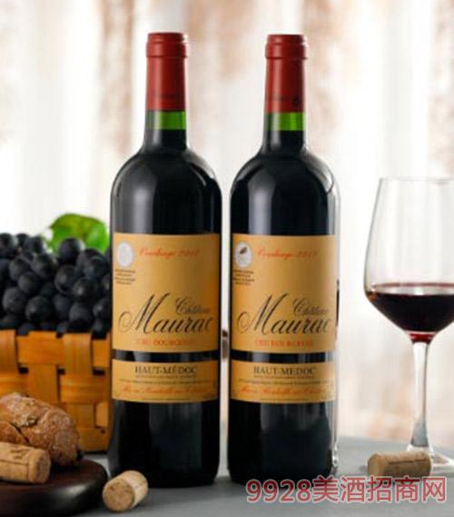 莫哈古堡干红葡萄酒750ml