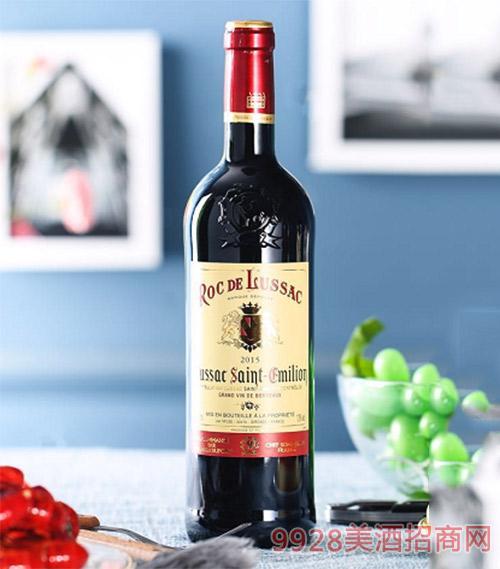 洛克古堡干红葡萄酒750ml