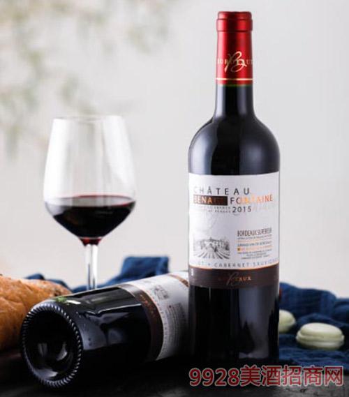 法国超级波尔多葡萄酒750ml