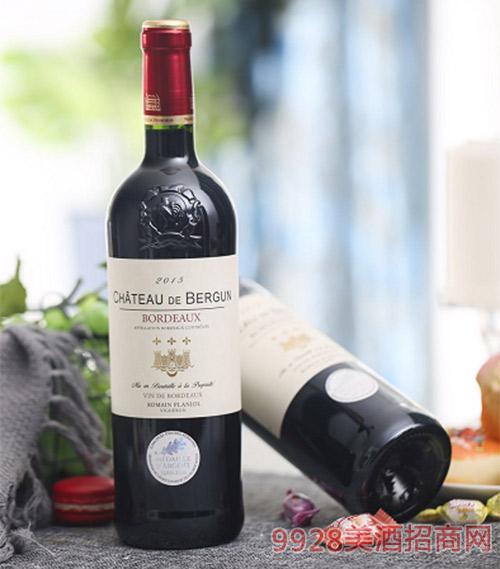 伯颂古堡干红葡萄酒750ml