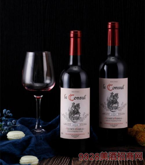乐颂干红葡萄酒750ml