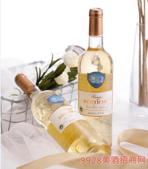百丽高荣耀甜白葡萄酒750ml