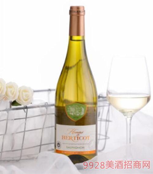 百麗高榮耀干白葡萄酒750ml