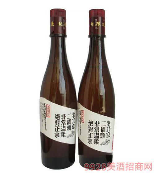 老北京二锅头酒瓶装42度500ml