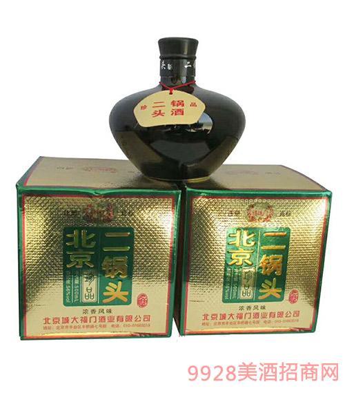 北京二锅头酒坛装56度500ml