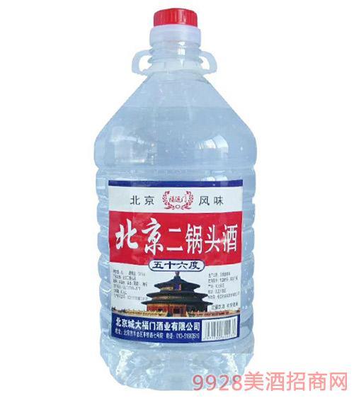 北京二锅头酒56度桶装
