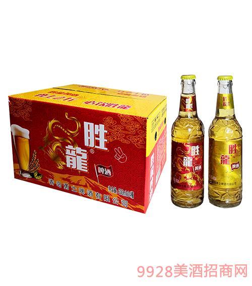 胜龙冰纯啤酒330ml×24瓶