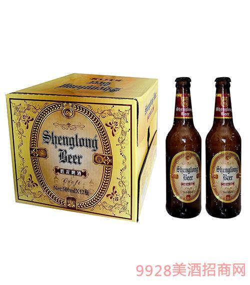 胜龙伯爵啤酒500ml×12瓶