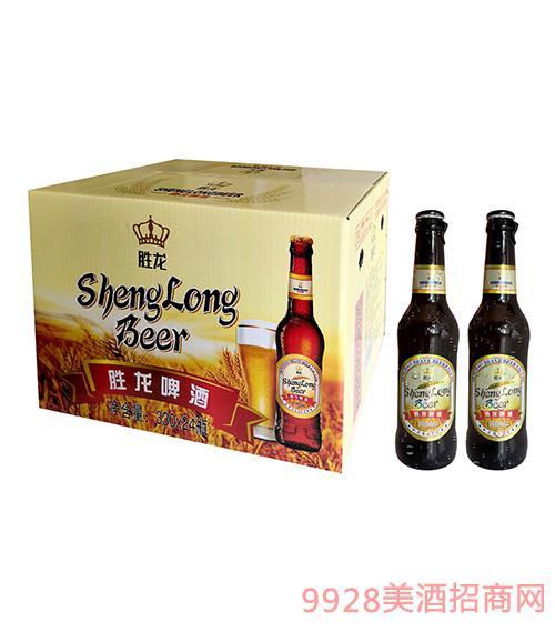 胜龙小金麦啤酒330ml×24瓶