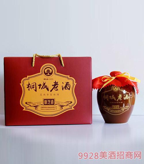 桐城老酒1Lx2礼盒