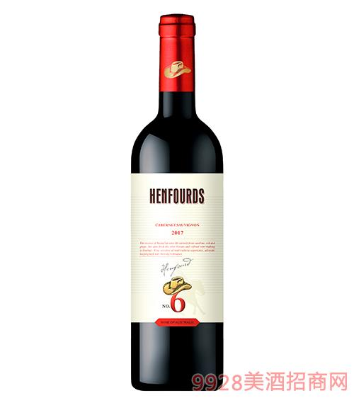 亨富6号赤霞珠干红葡萄酒