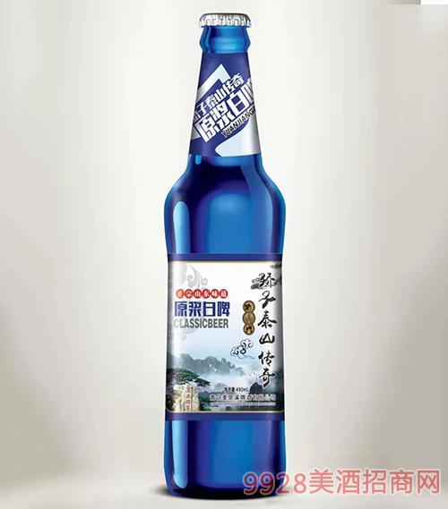 �子泰山�髌嬖��{白啤酒