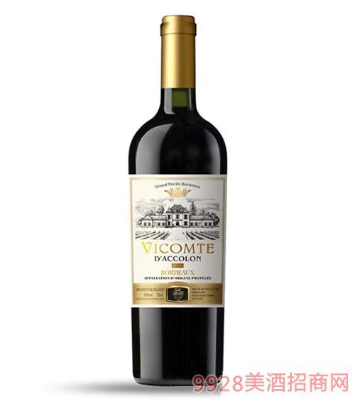 杜南公爵干�t葡萄酒