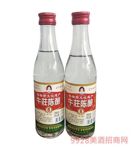 牛荘八年陈酿酒250ml
