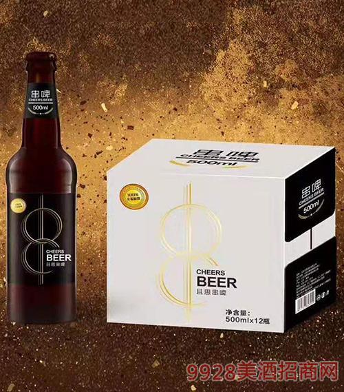 且思串啤全麥黑啤500mlx12