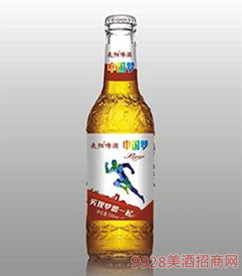 麦阳啤酒中国梦
