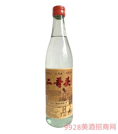 二哥�^酒白瓶42度500ml
