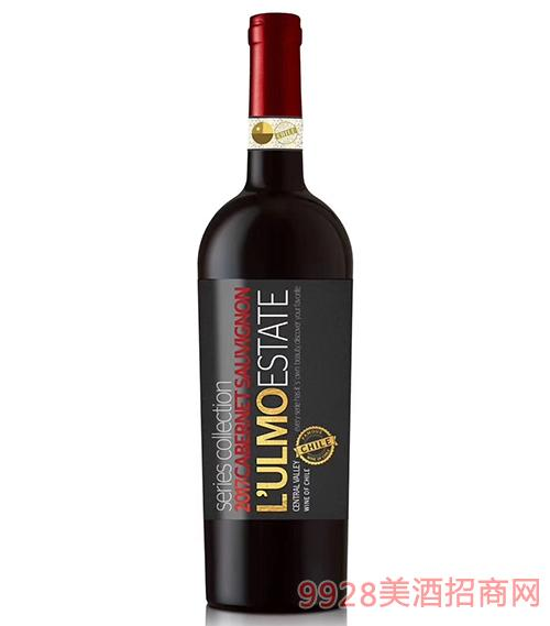 智利乌摩系列珍酿赤霞珠葡萄酒