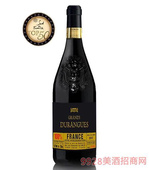 杜兰戈副牌法国爱丽舍宫用餐酒