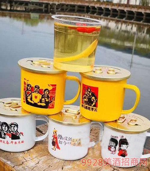 老東北茶缸人參酒