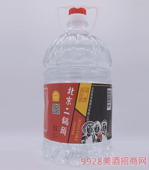 君有福北京二锅头酒桶装42度2500ml