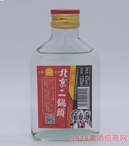 100ml君有福北京二锅头酒