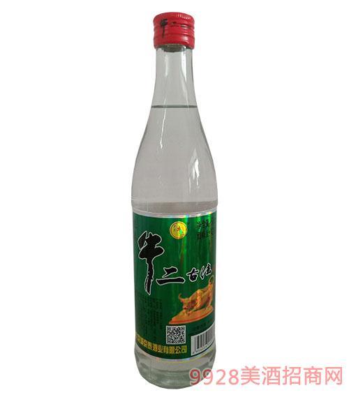 京泰牛二古法酒42度500ml