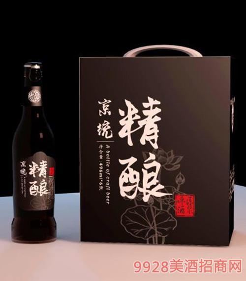 京�y精�荷花啤酒496ml