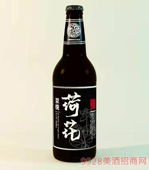 京统精酿荷花啤酒460ml