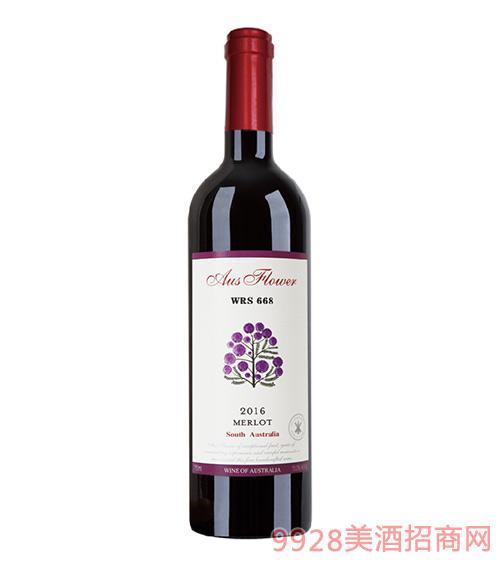 WRS668美乐干红葡萄酒