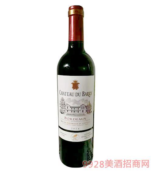 法国金奖杜柏利干红葡萄酒