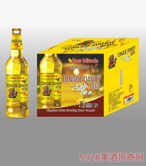 舌郎啤酒500ml(瓶装)