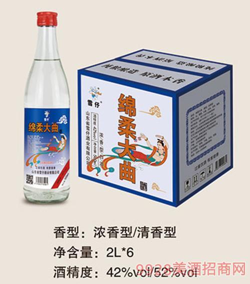 雪仔�d柔大曲酒2Lx6