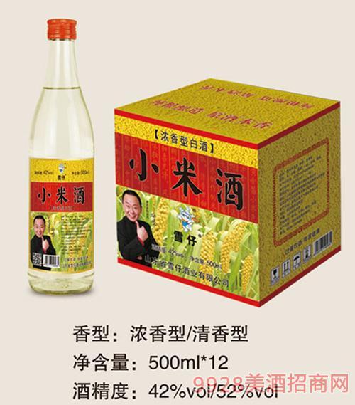 雪仔小米酒瓶�b500mlx12