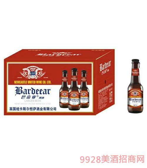 巴帝亚啤酒218ml瓶装