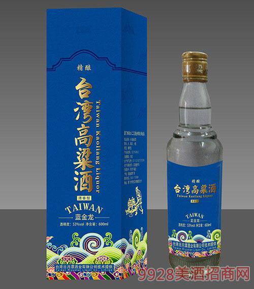 臺灣高粱酒藍金龍
