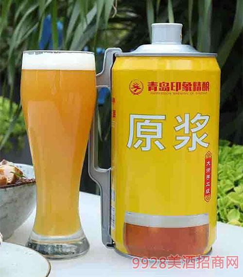 青�u印象精�原�{啤酒