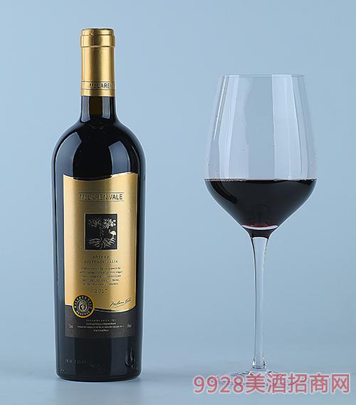 ��克拉��谷西拉珍藏干�t葡萄酒