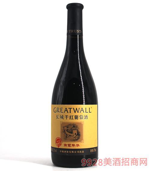 长城御露年华解百纳干红葡萄酒