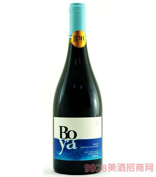 蓝色幻想副牌西拉干红葡萄酒