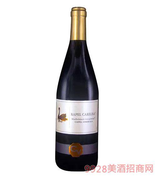 西班牙黑天鹅干红葡萄酒12度750ml