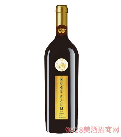 澳洲巨掌庄园巅 峰西拉干红葡萄酒(限量款)16度750ml