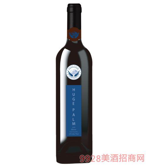 澳洲巨掌庄园西拉干红葡萄酒15度750ml
