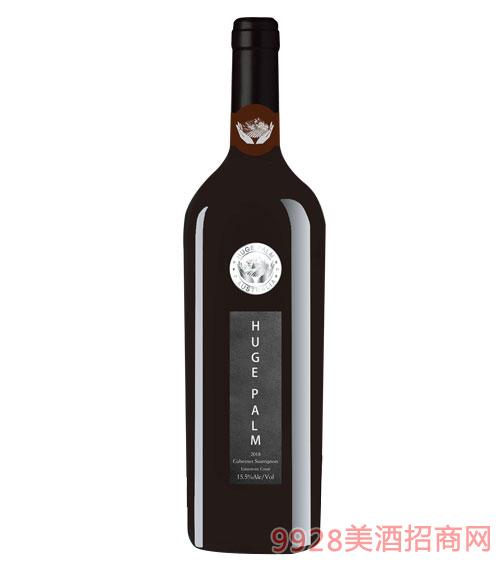 澳洲巨掌莊園赤霞珠干紅葡萄酒15.5度750ml