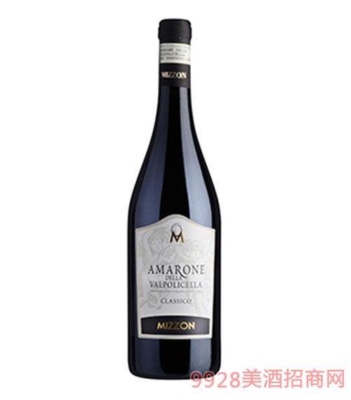 意大利阿瑪羅尼經典頂級干紅葡萄酒15.5度750ml