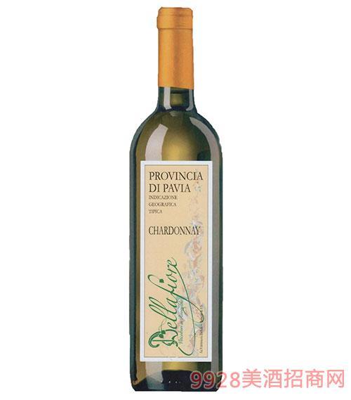 意大利霞多麗干白葡萄酒12度750ml