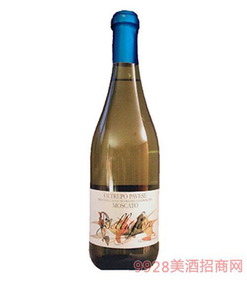 意大利莫斯卡托麝香葡萄酒4.5度750ml