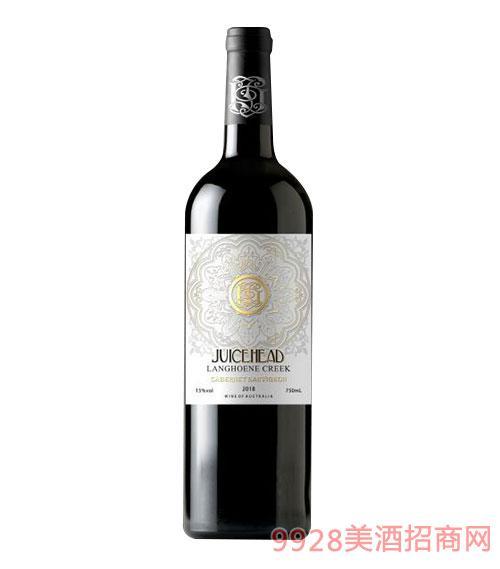 澳大利亞珠思海德干紅葡萄酒15度750ml白標
